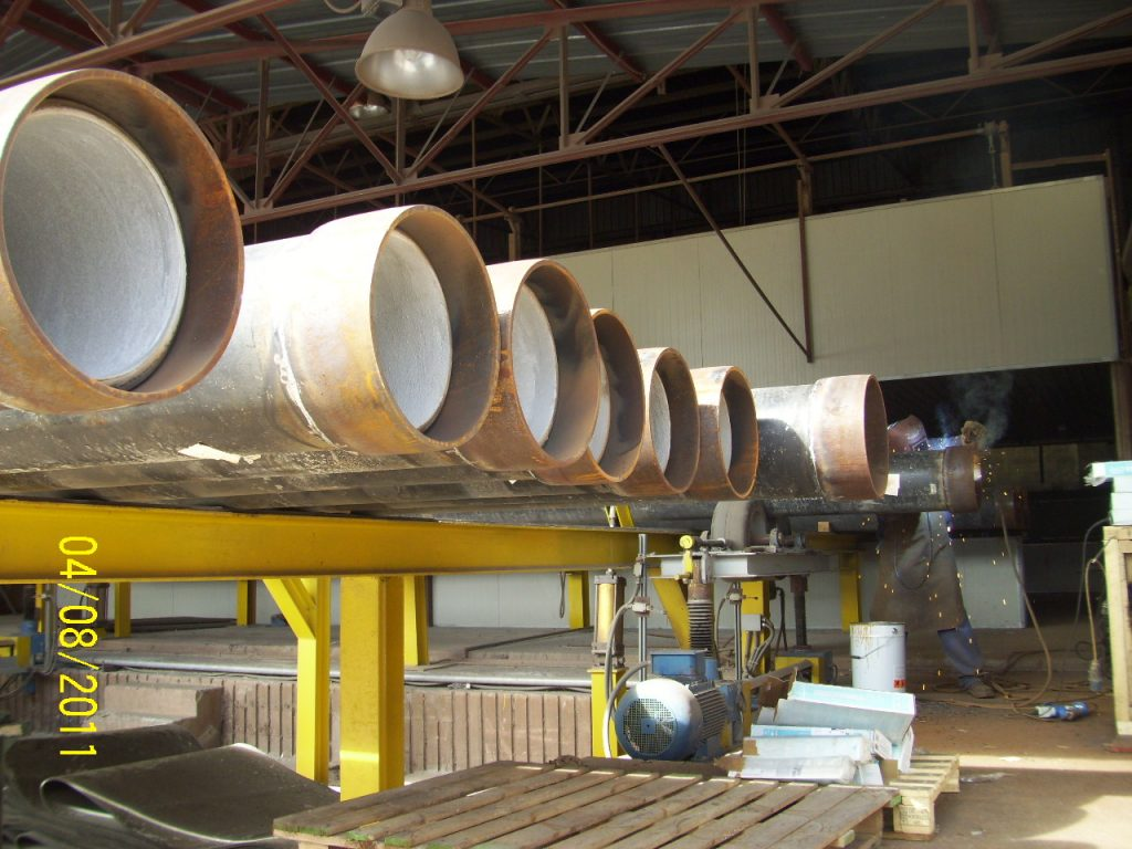 INTERNALLY CEMENTED PIPES (4)
