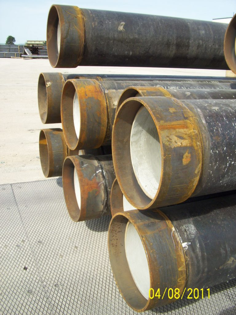 INTERNALLY CEMENTED PIPES