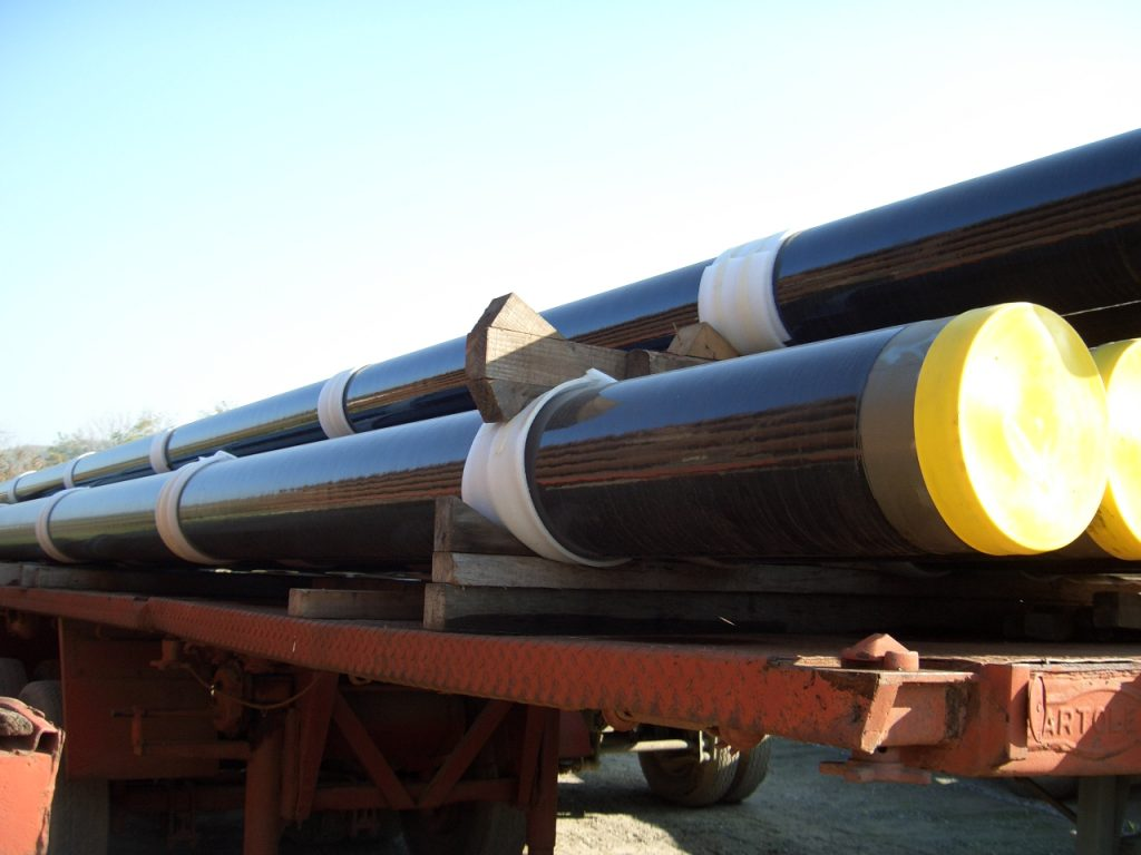 PIPES COATED WITH PROTEGOL 32-55 - 1,5 mm. thk. - 2